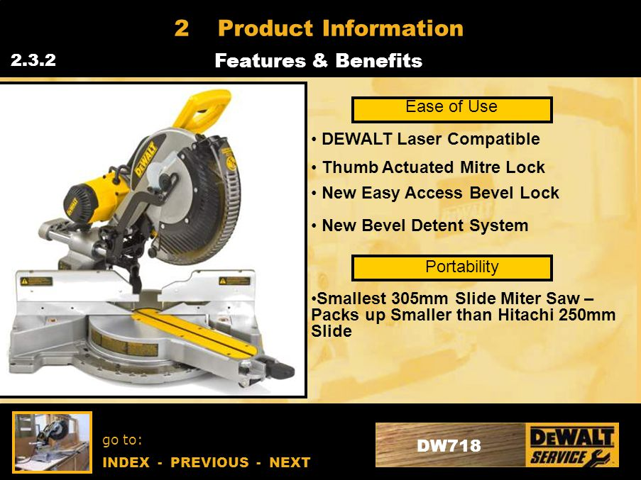 go to: INDEX - PREVIOUS - NEXT DW718 4Repair Instructions Strip Down Guidelines / Procedures 4.2.14 Bevel Lock Remove back cover to expose bevel lock system