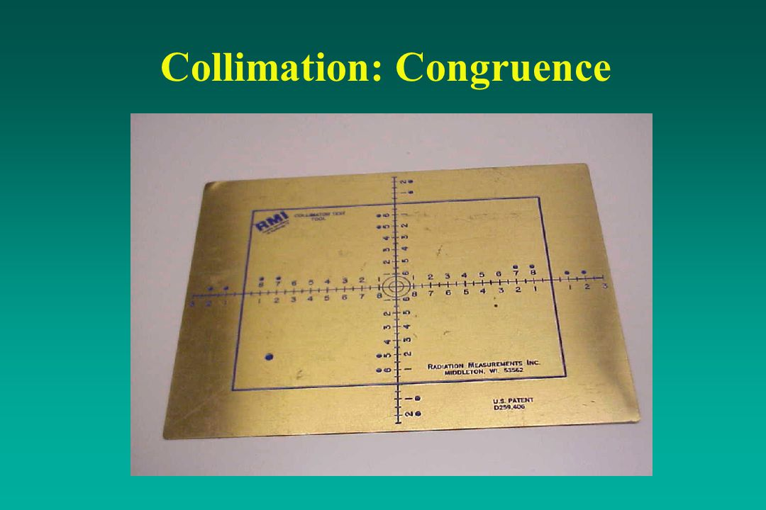 Collimation: Congruence