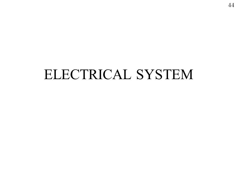 ELECTRICAL SYSTEM 44