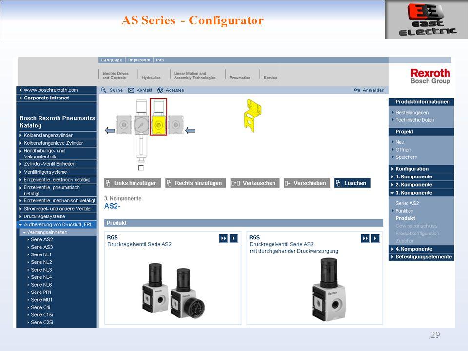29 AS Series - Configurator