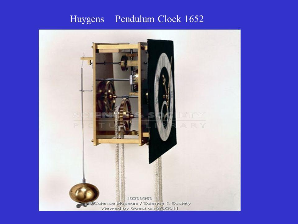 Huygens Pendulum Clock 1652