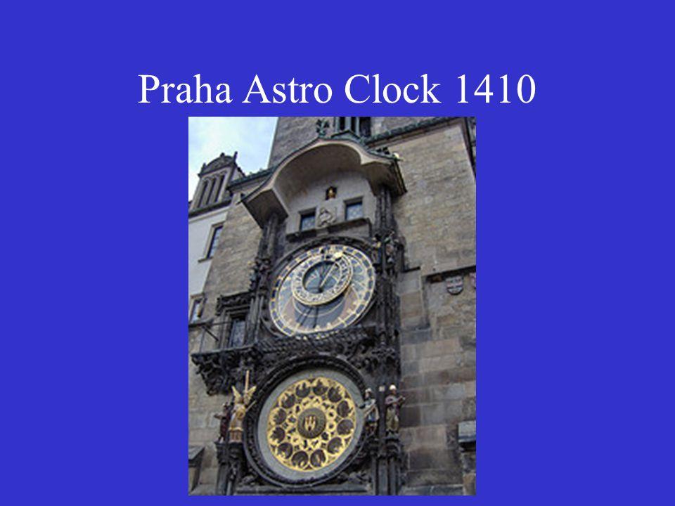 Praha Astro Clock 1410