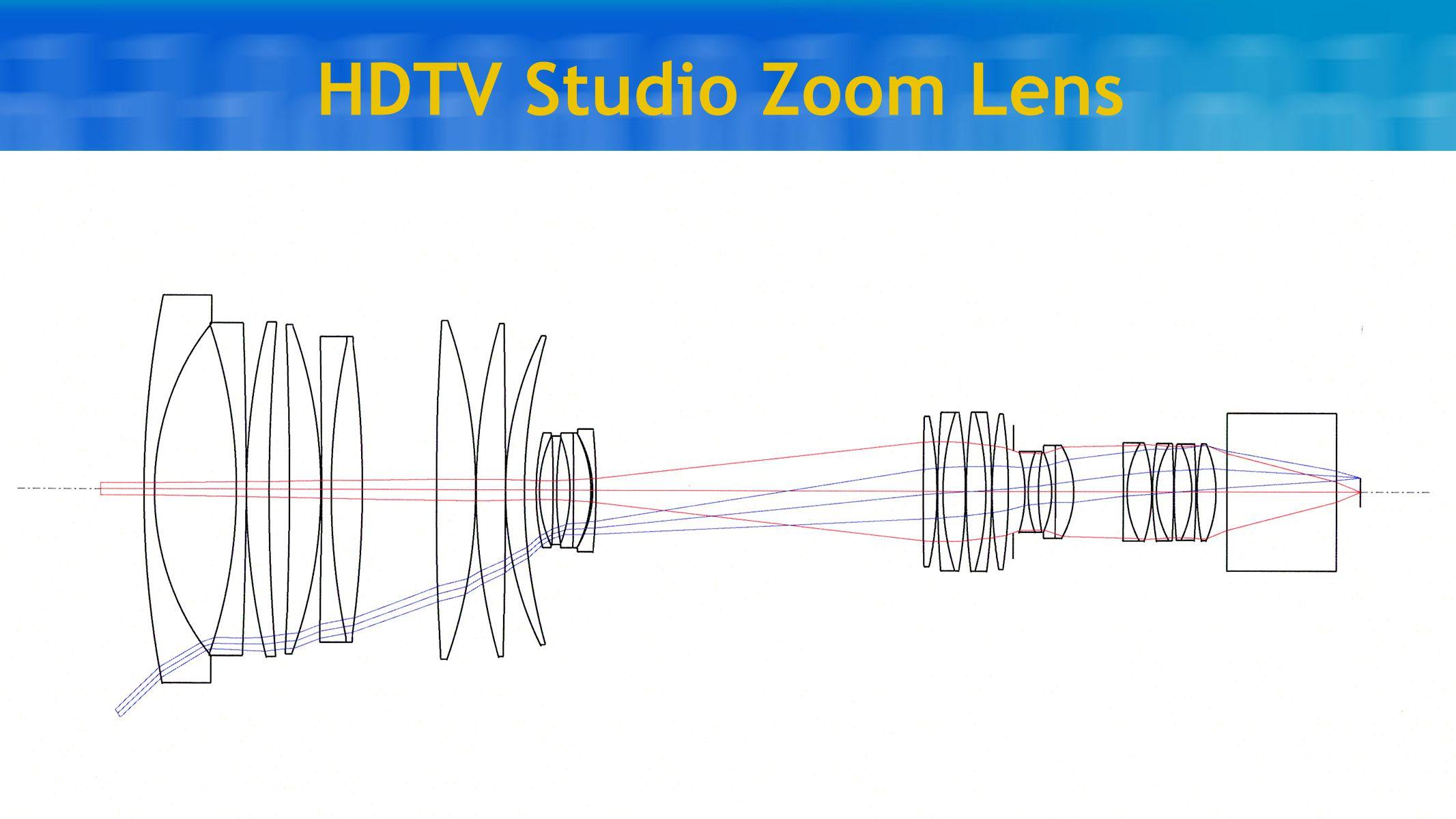 HDTV Studio Zoom Lens