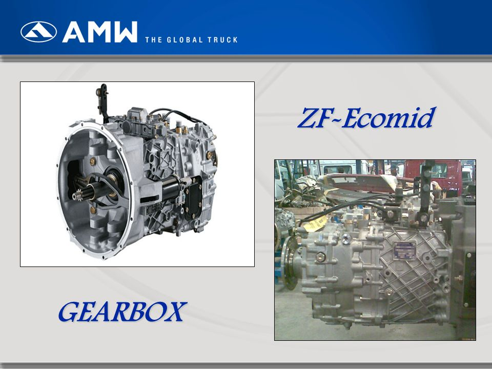 63 ZF-Ecomid GEARBOX