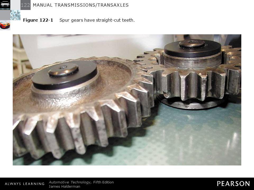 122 MANUAL TRANSMISSIONS/TRANSAXLES Automotive Technology, Fifth Edition James Halderman © 2011 Pearson Education, Inc.