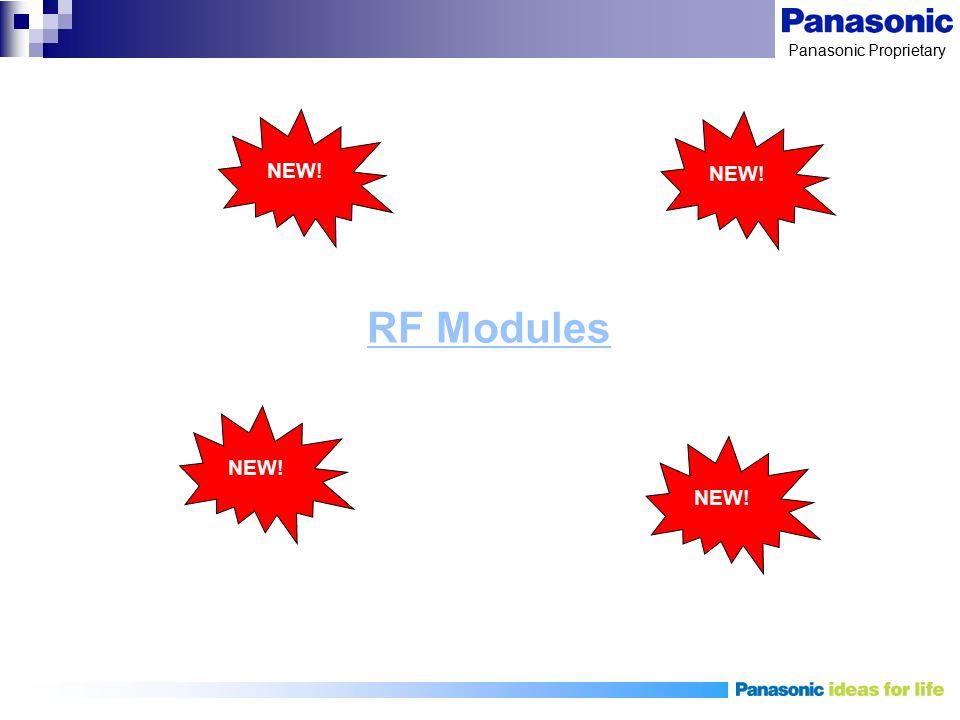 Panasonic Proprietary RF Modules NEW!