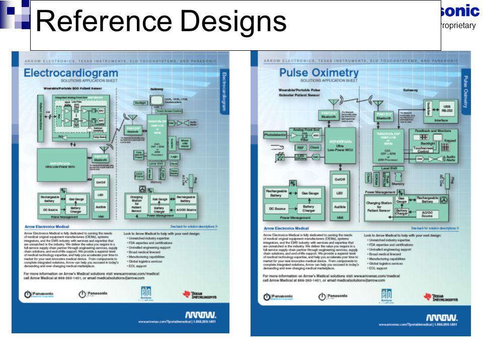Panasonic Proprietary Reference Designs