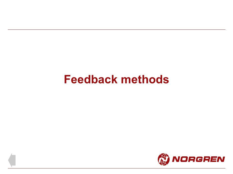 Feedback methods