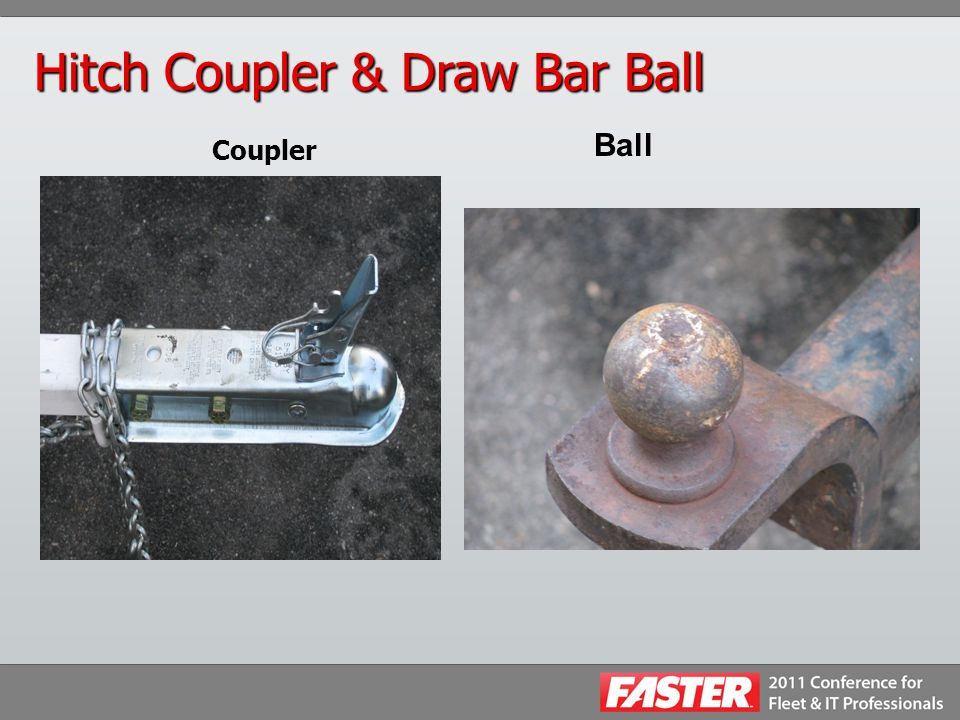 Hitch Coupler & Draw Bar Ball Coupler Ball