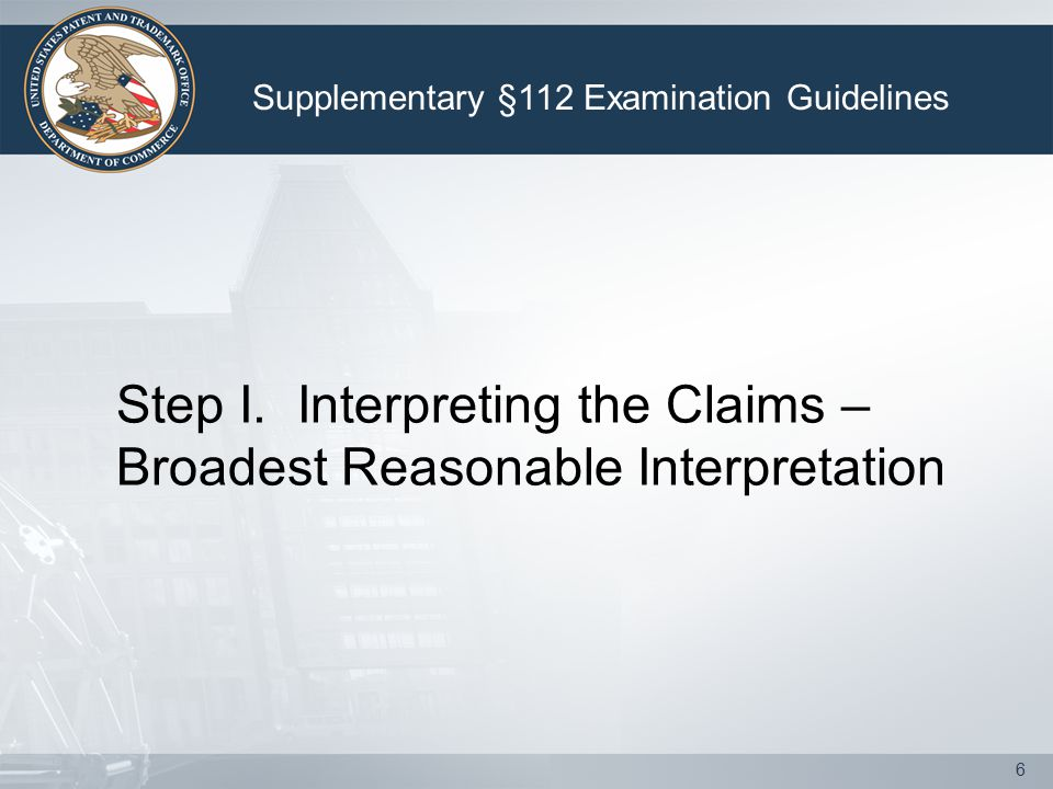 27 An improper dependent claim includes, but is not limited to: 1.A claim that omits an element from the independent claim.