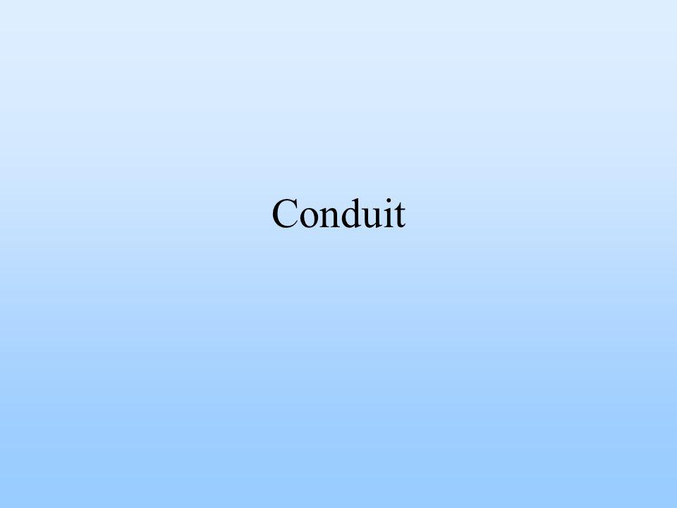 Conduit