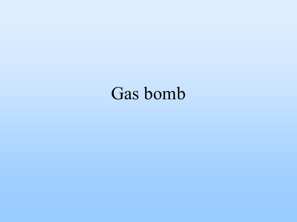 Gas bomb