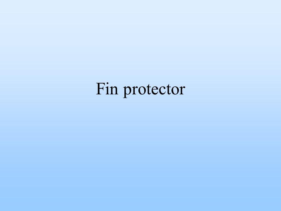 Fin protector