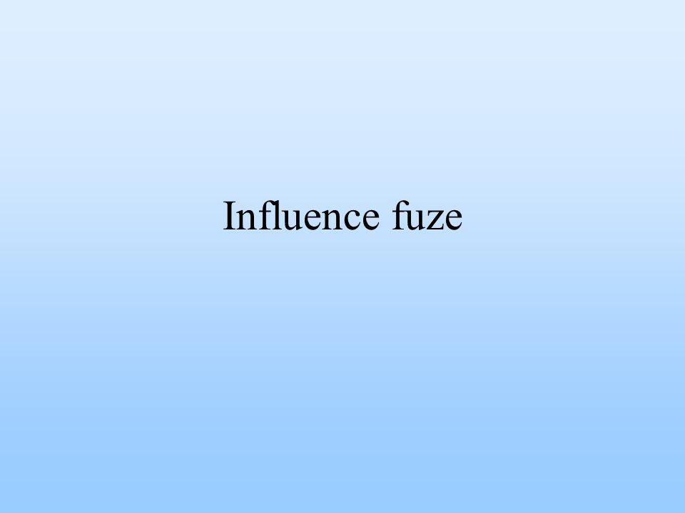 Influence fuze