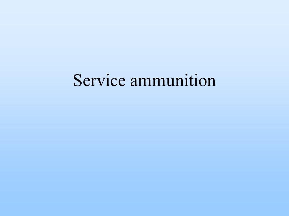 Service ammunition