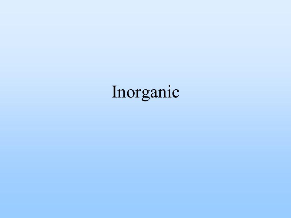 Inorganic