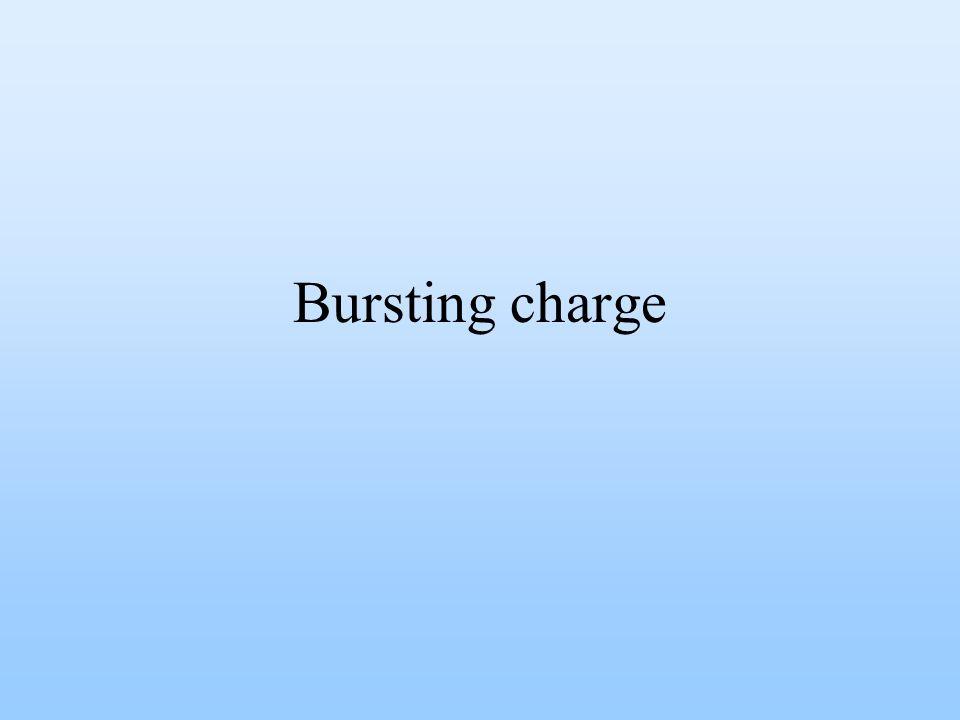 Bursting charge