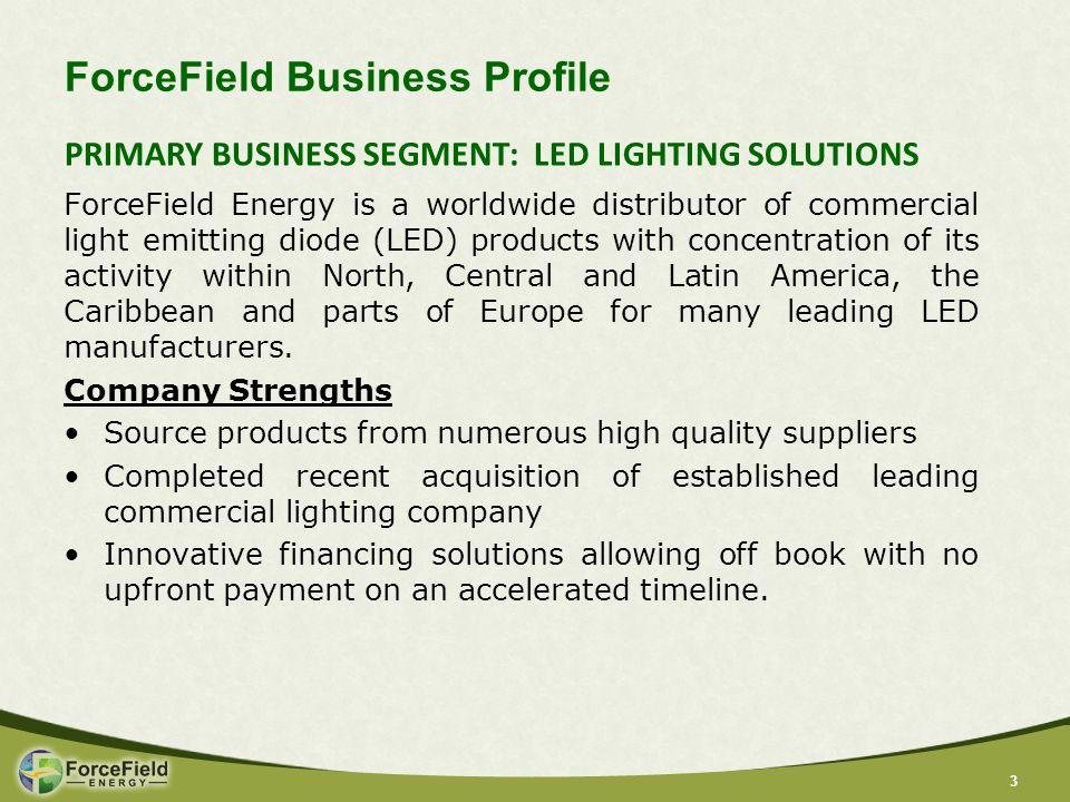 44 Public Company Profile FNRG NASDAQ 16.2 million 25.8% $97 million 920,000 $12-15 million A.