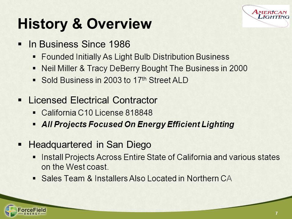 18 Source: 2011 Energy Efficiency Indicator: IFMA Partner results International Facility Management Association Importance of LED Lighting