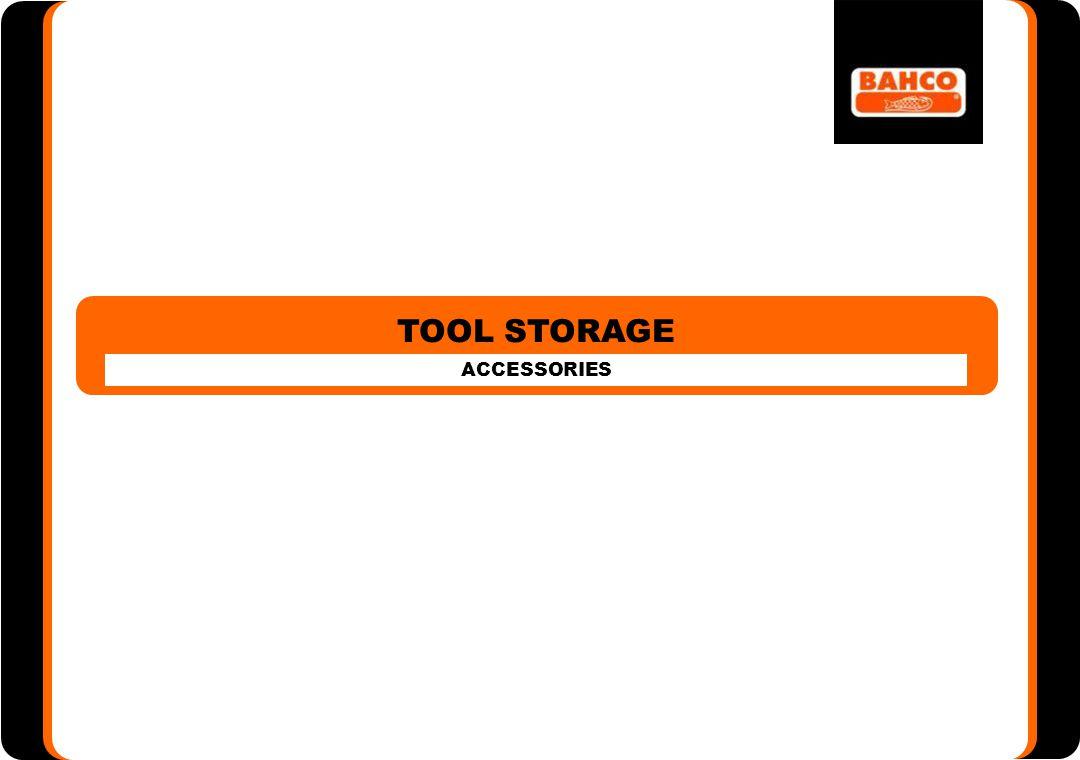 54 TOOL STORAGE ACCESSORIES