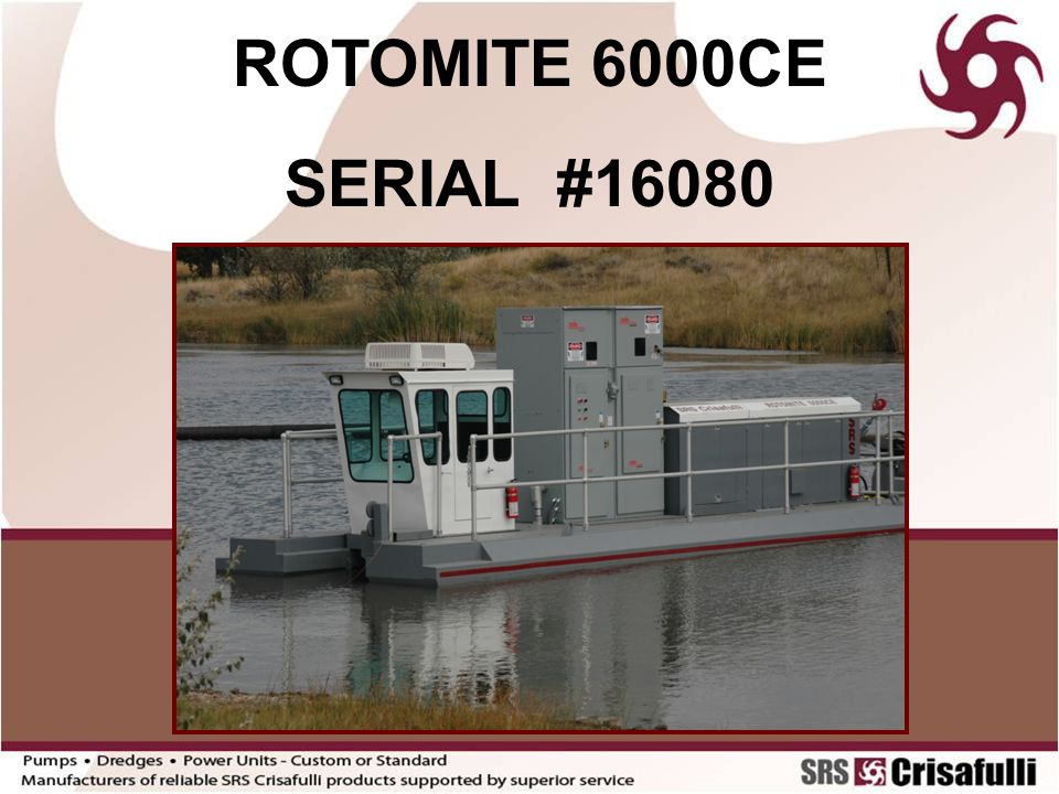 ROTOMITE 6000CE SERIAL #16080
