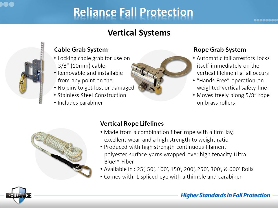 """Vertical Systems Cable Grab System Locking cable grab for use on 3/8"""" (10mm) cable Removable and installable from any point on the No pins to get lost"""