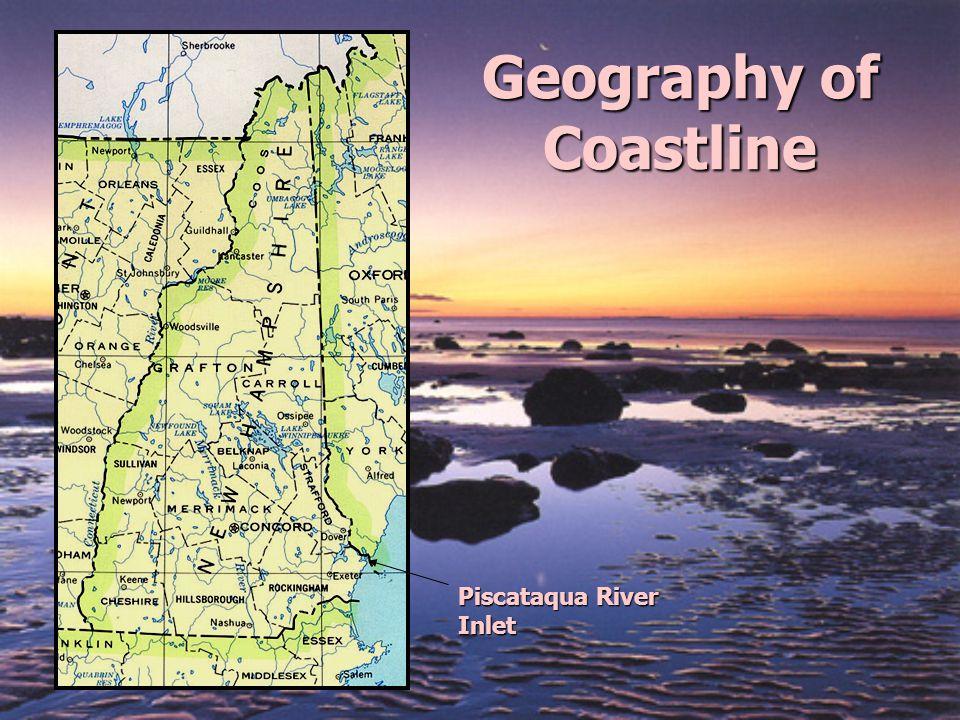 Geography of Coastline Piscataqua River Inlet
