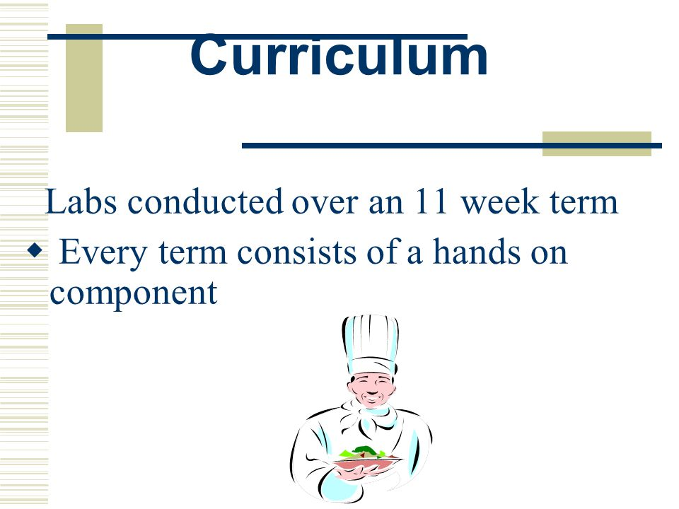 CULINARY NUTRITION PROGRAM Director: Suzanne Vieira, MS, RD (401) 598-1881