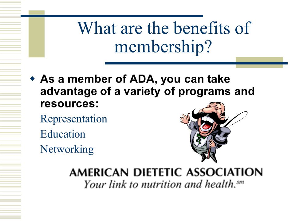 What is ADA.