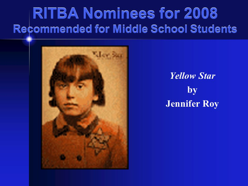 RITBA Nominees for 2008 Recommended for Middle School Students Larklight: A Rousing Tale of Dauntless Pluck in the Farthest Reaches of Space By Philip Reeve booktalk presented by Aaron Coutu Greenville PL