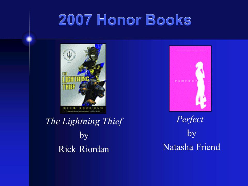 The 2007 Winner Twilight by Stephenie Meyer