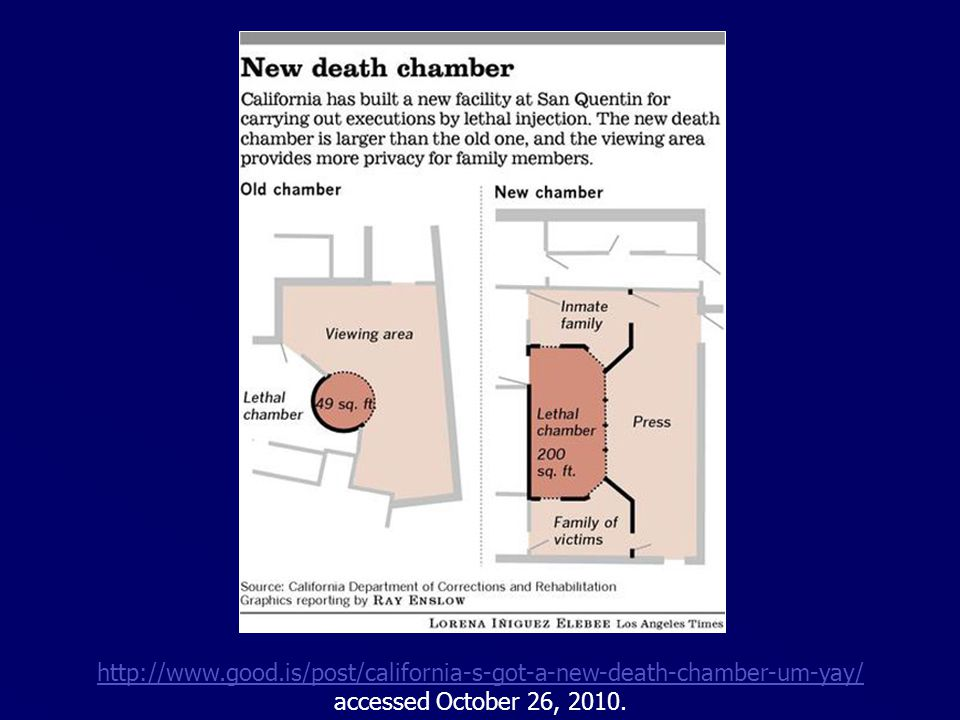 http://www.good.is/post/california-s-got-a-new-death-chamber-um-yay/ accessed October 26, 2010.