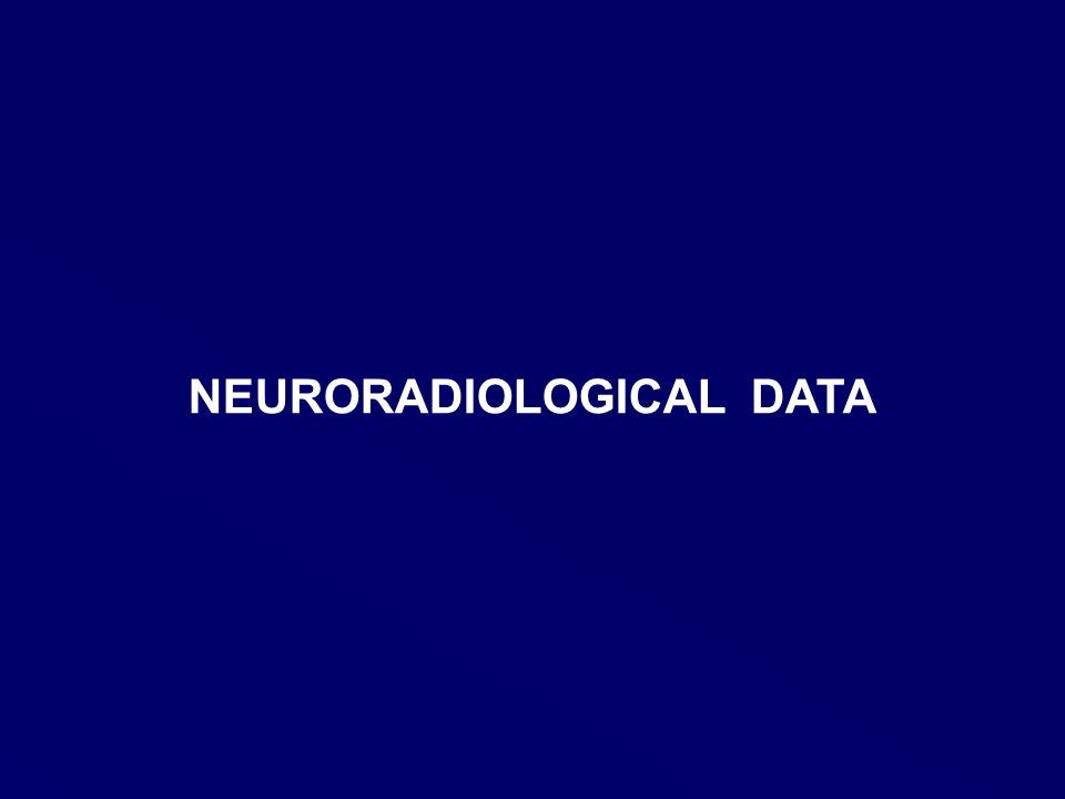 NEURORADIOLOGICAL DATA