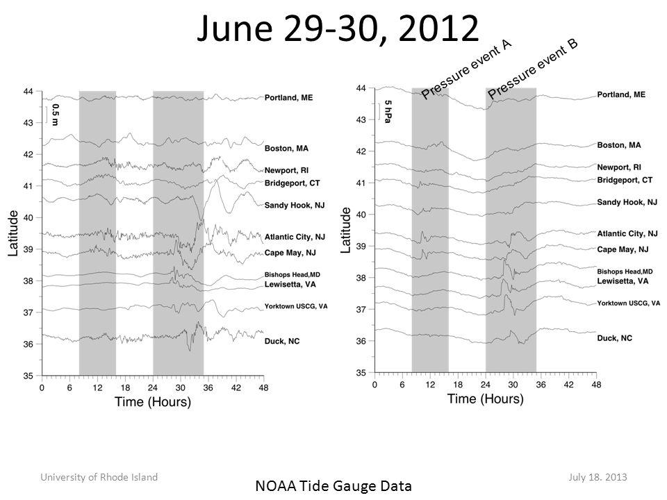 June 29-30, 2012 University of Rhode IslandJuly 18.