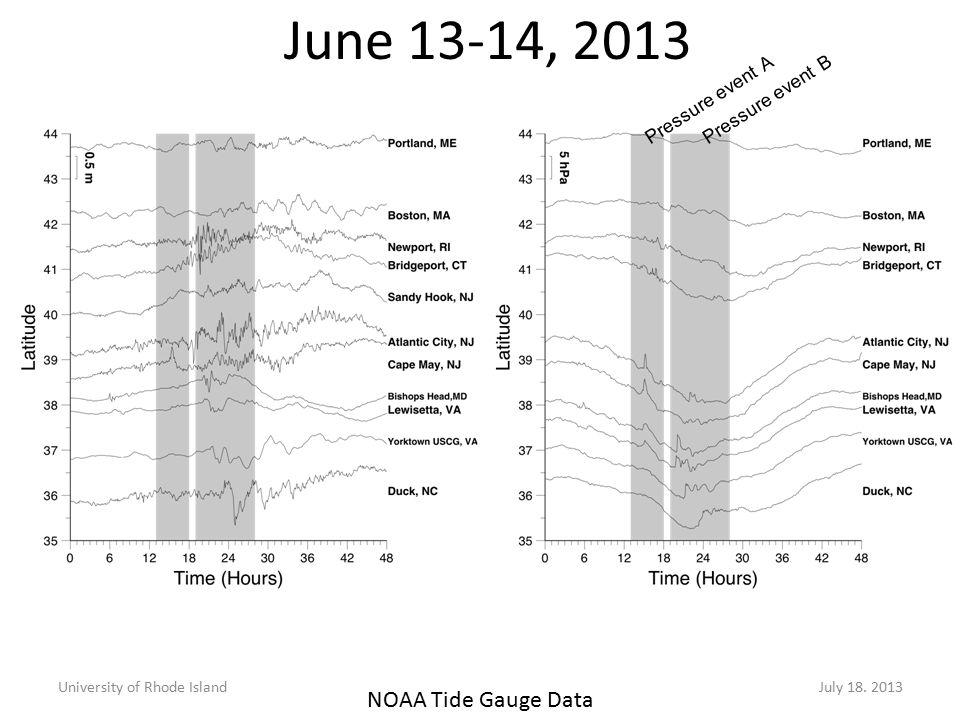 June 13-14, 2013 University of Rhode IslandJuly 18.