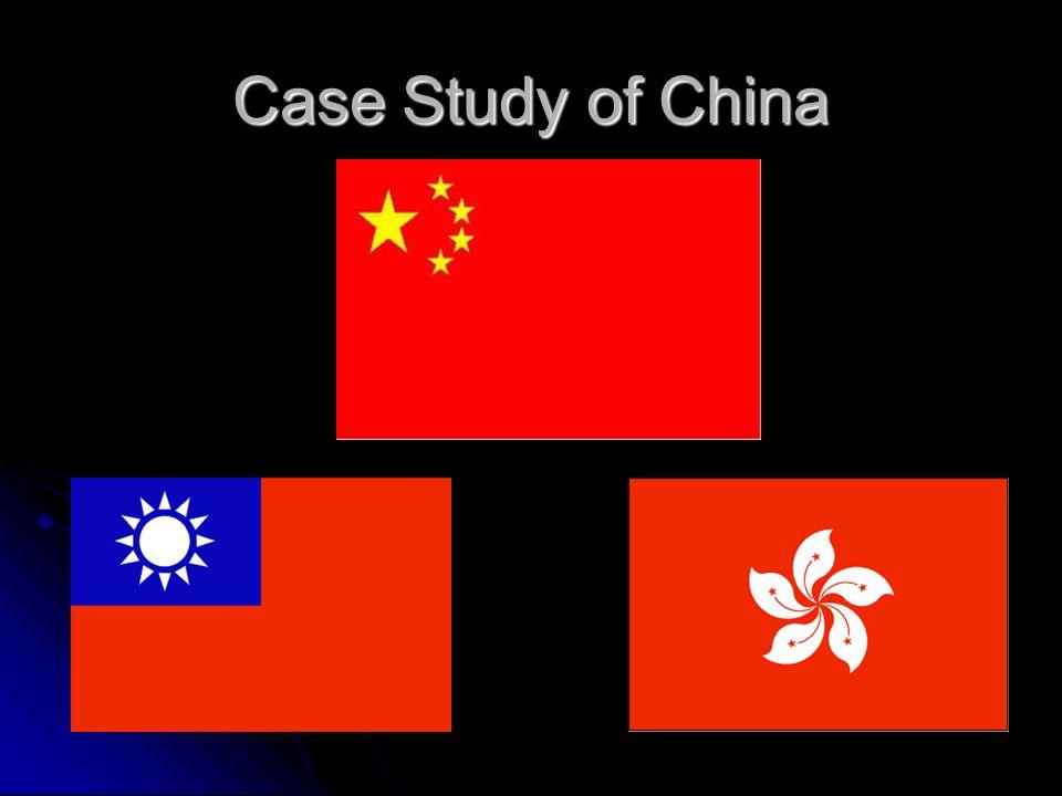 Case Study of China