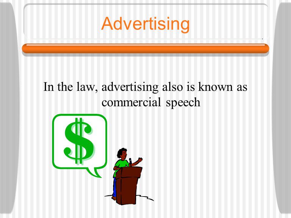 Advertising Cases 1.Valentine v.