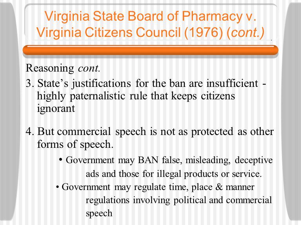 Virginia State Board of Pharmacy v.