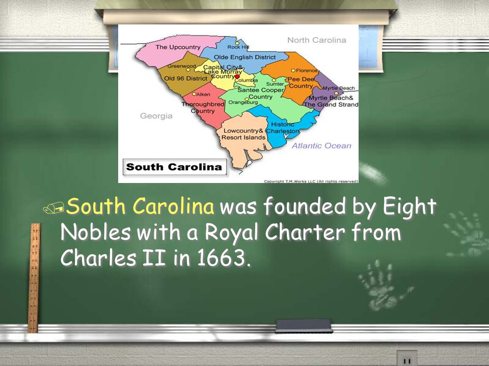 North Carolina was founded in 1653 by the Virginians.