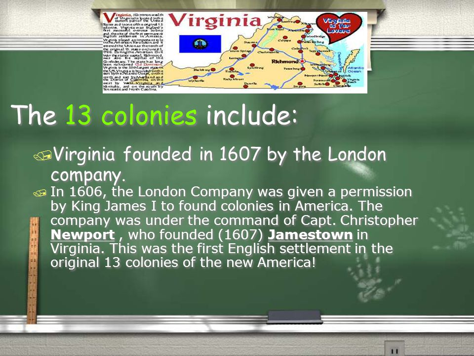 All 5th graders should know: (cont) / 2.Identify the major individuals and groups responsible for the founding of the various colonies and the reasons for their founding (e.g., John Smith, Virginia; Roger Williams, Rhode Island; William Penn, Pennsylvania; Lord Baltimore, Maryland; William Bradford, Plymouth; John Winthrop, Massachusetts).