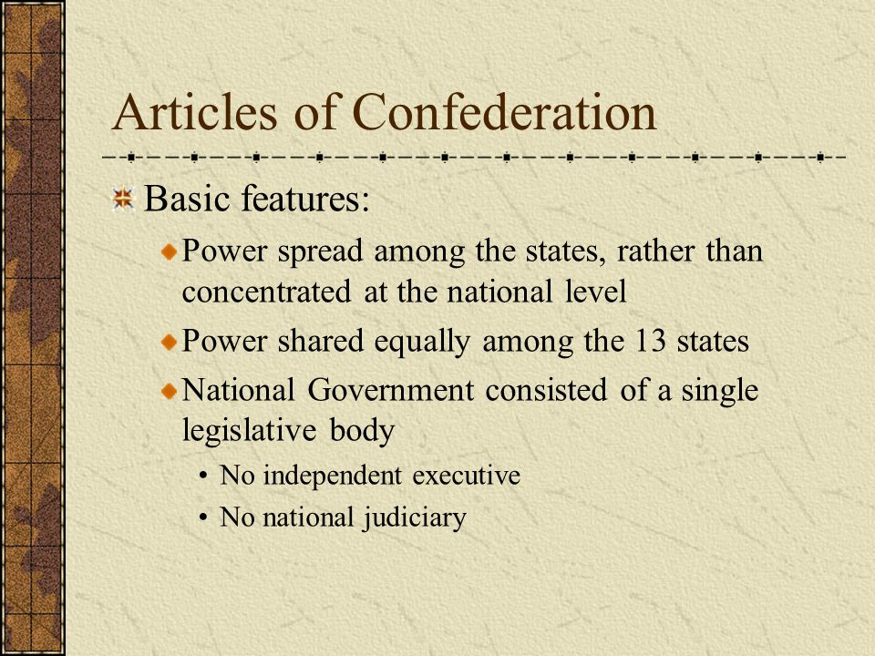 Constitutional Convention Charged with amending the Articles Amendment requires unanimous consent of the 13 states Rhode Island did not send any delegates George Washington chosen as presiding officer Meet secretly through the summer of 1787