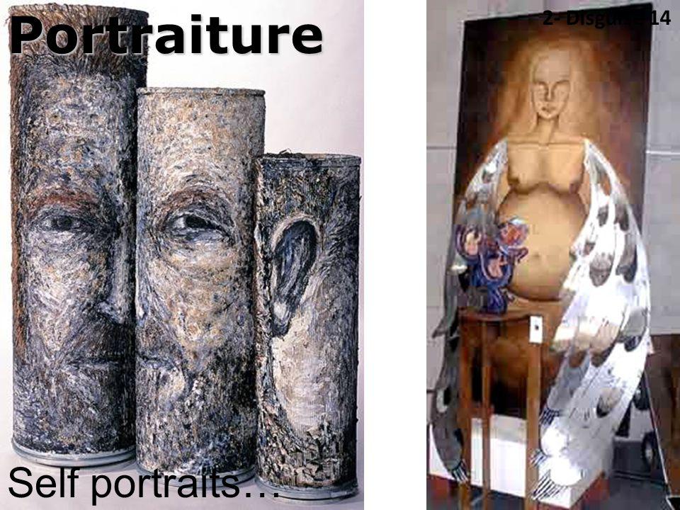 Portraiture Self portraits… 2- Disguise 14