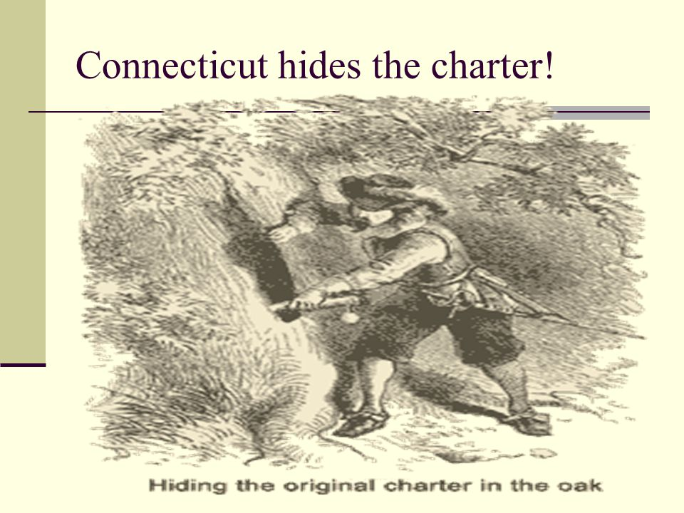 Connecticut hides the charter!