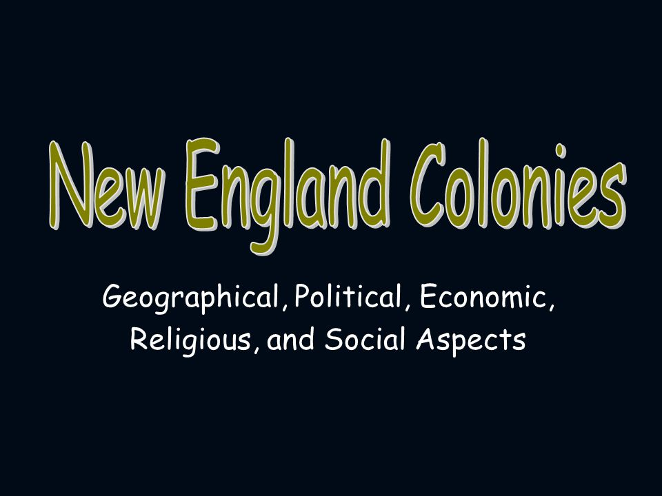 NEW territories of England, the mother country Why is New England, called New England? New England Colonies