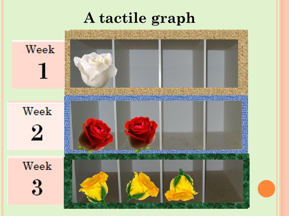 60 A tactile graph