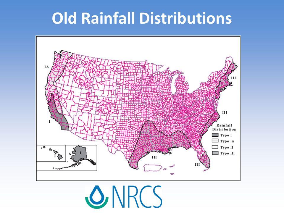 Old Rainfall Distributions