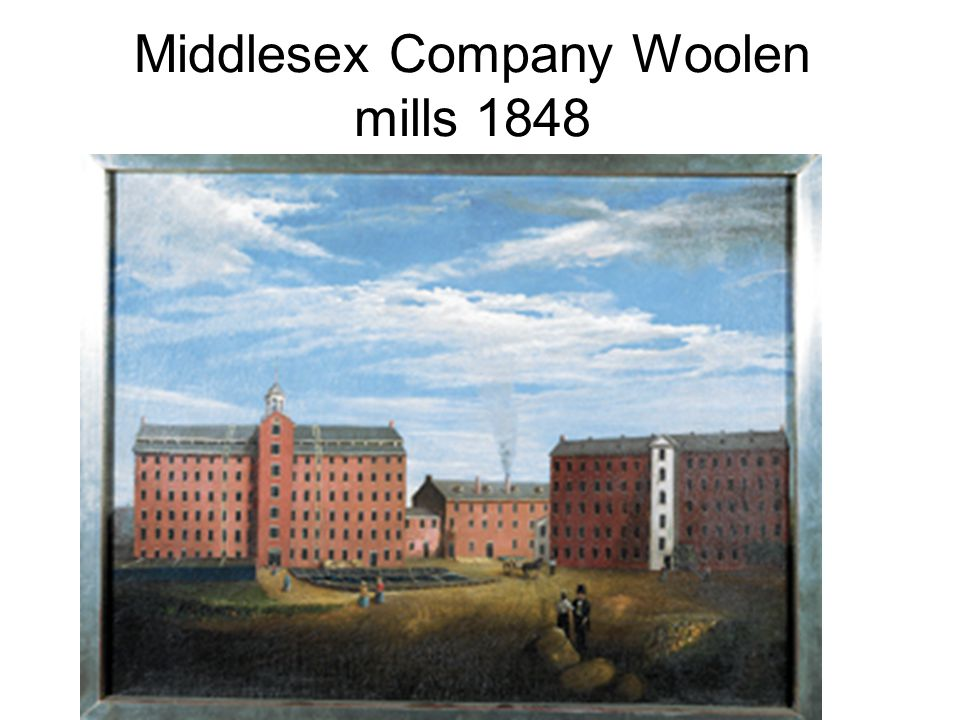Middlesex Company Woolen mills 1848