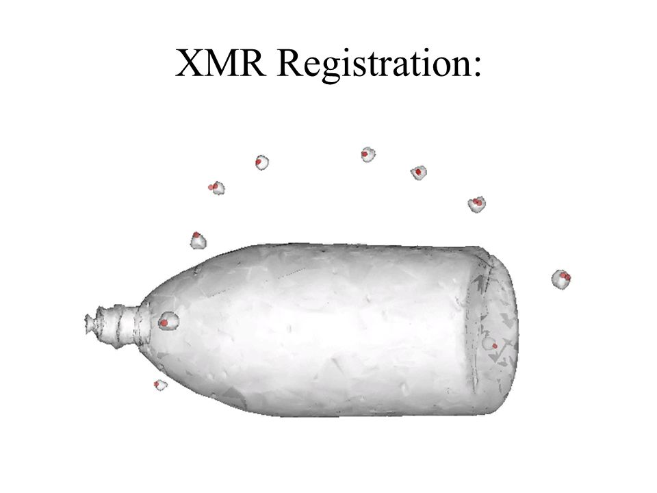XMR Registration: 3D Reconstruction