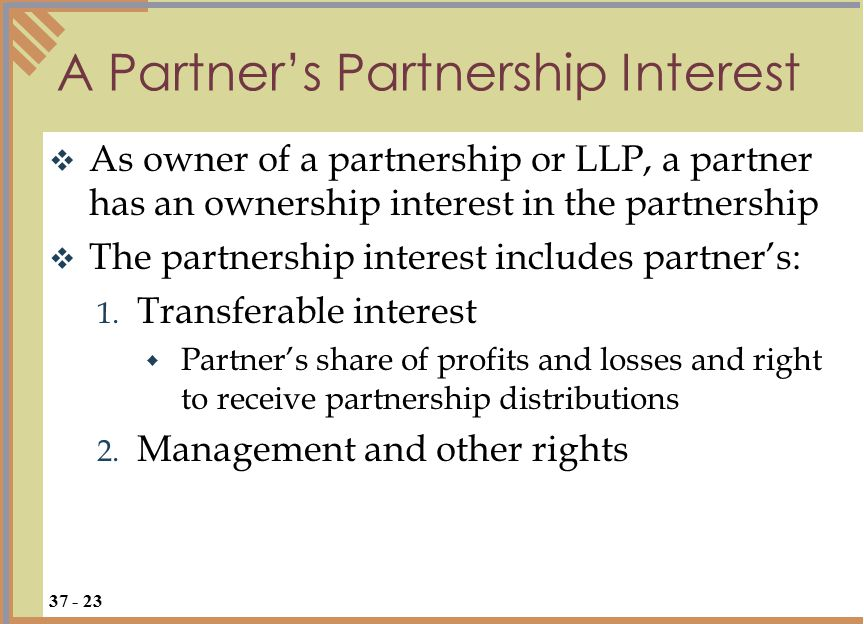  Generally, partnership law applies to joint ventures, but a court may distinguish the two if the business purpose is limited to a single project rather than series of related transactions  Reason: joint venturers usually held to have less implied and apparent authority than partners due to limited scope of the enterprise Partnership or Joint Venture.