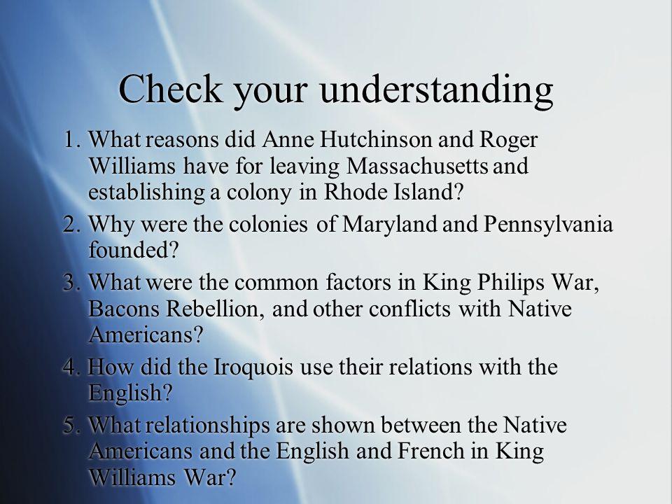 Check your understanding 1.